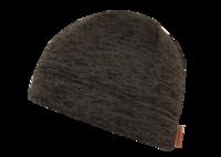 Шапка трикотажная/флис NordKapp арт. 412 коричневый меланж