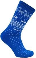 "Носки NordKapp арт. 517-S Blue Коллекция ""Норвежские звезды"""